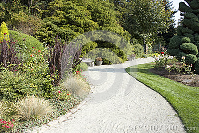 Path in Rose garden