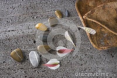 Path with stones