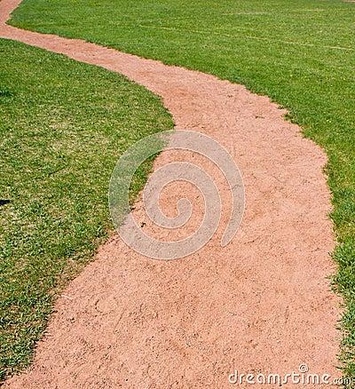 Free Path Through Grass Royalty Free Stock Photo - 9600135