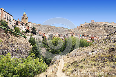 Path to Albarracin