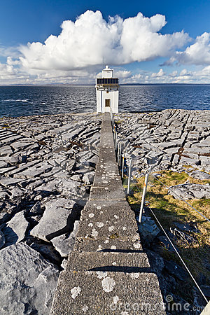Path to Burren Lighthouse