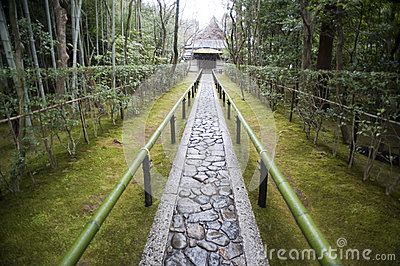 Path to the Koto-in, the sub-temple of Daitoku-ji
