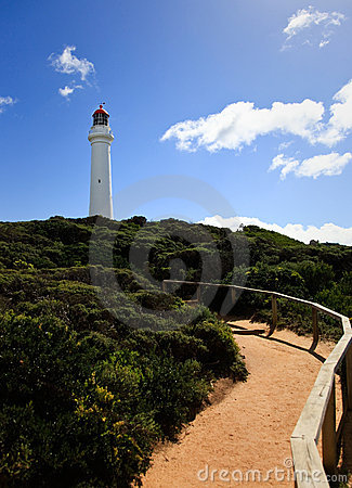 Free Path To The Lighthouse Royalty Free Stock Image - 14013946