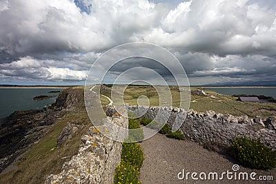 Pathway, Llanddwyn Island, Anglesey