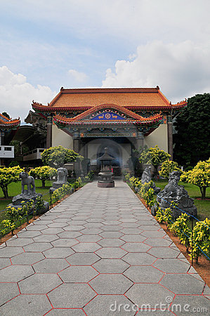 Pathway at Temple