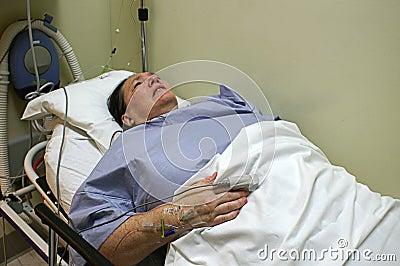 Patient in Emergency Room Bed