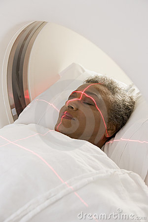 Patient Having A CAT Scan