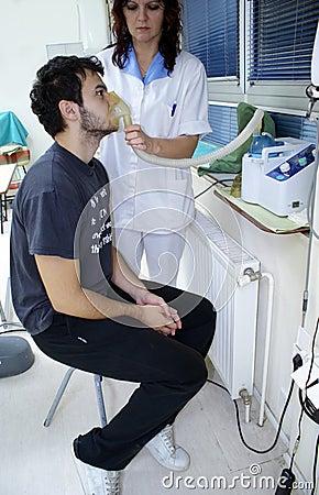 Patient inhale