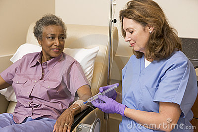 Patient Undergoing Chemotherapy Traetment