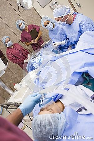 Free Patient Undergoing Egg Retrieval Procedure Stock Photo - 5002630