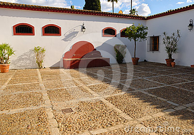 Patio Andalusian cortijo