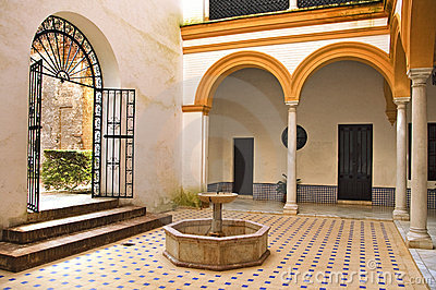 Decoration blogs this is spain - Imagenes de patios andaluces ...
