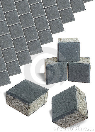 Free Patio Blocks Royalty Free Stock Photography - 23701757