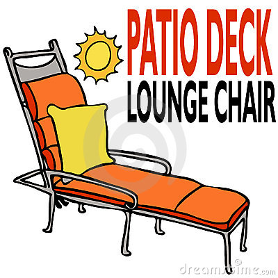 Patio Deck Lounge Chair