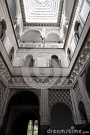 Patio del Real Alcazar de Sevilla