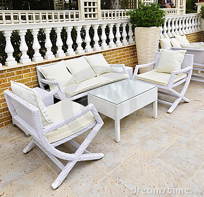 Free Patio Furniture Outdoor Stock Image - 19998071