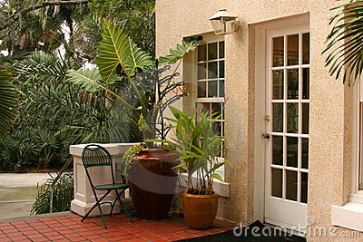 Patio in Tropics