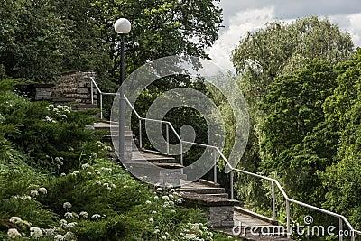 Patkuli Stairs in Tallinn