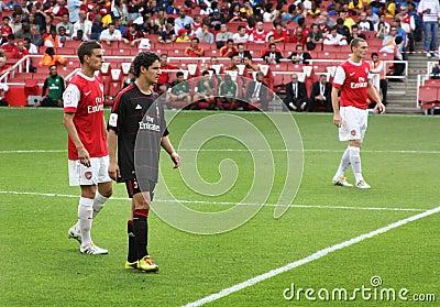 Pato, forward of A.C. Milan Editorial Stock Photo