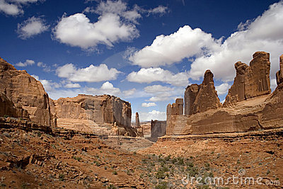 The Patriarchs, Arches National Park