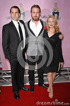 Patricia Clarkson, Peter Schneider, Ryan Gosling Editorial Image