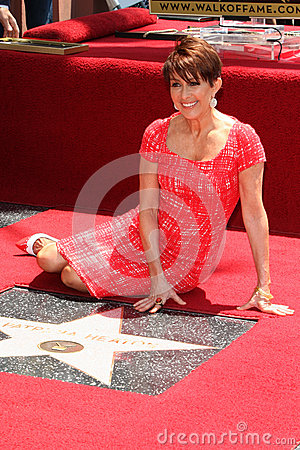 Patricia Heaton at the ceremony honoring Patricia Heaton with a Star on The Hollywood Walk of Fame Editorial Photography