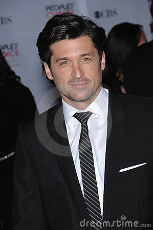 Patrick Dempsey Editorial Stock Photo