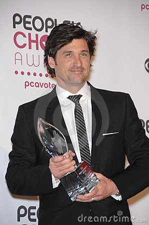Patrick Dempsey Editorial Photo