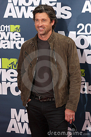 Patrick Dempsey Editorial Stock Image