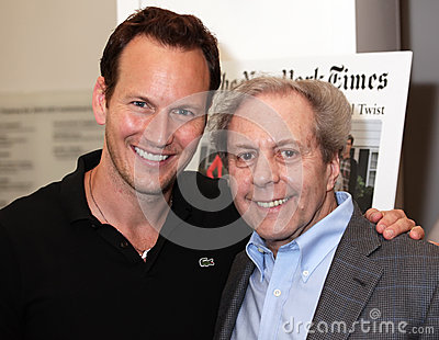 Patrick Wilson and Dr. Richard Brown Editorial Photo
