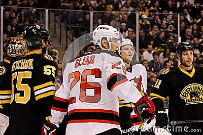 Patrik Elias New Jersey Devils Editorial Image