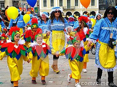 Patrino Karnavali, Patra Carnival 2009 Editorial Photography