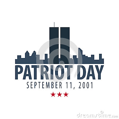 Free Patriot Day Emblems Or Logo. September 11. We Will Never Forget. Stock Photos - 98143403