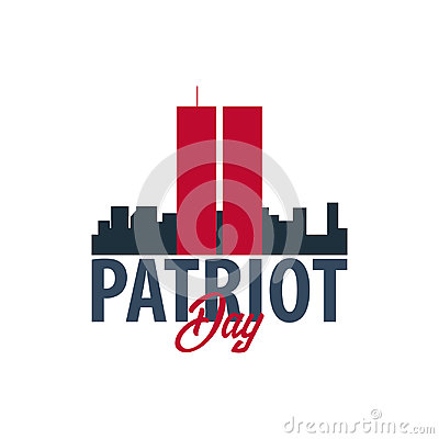 Free Patriot Day Emblems Or Logo. September 11. We Will Never Forget. Stock Photos - 98143423
