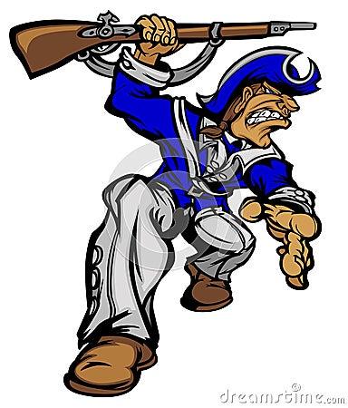 Patriot Mascot Vector Logo