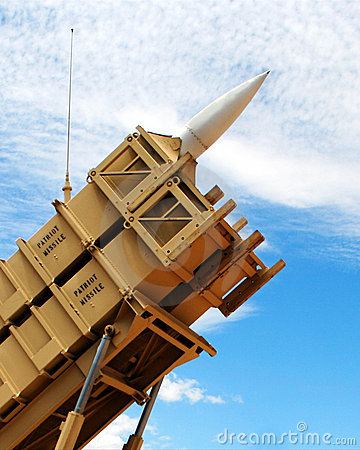 A Patriot Missile