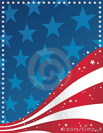 Free Patriotic Background Royalty Free Stock Photography - 10265387