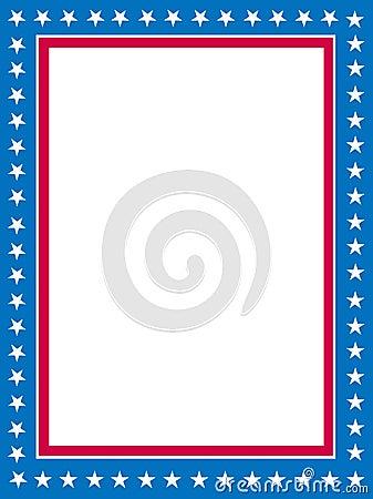 Patriotic border