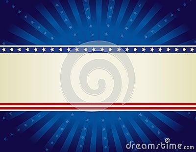 Patriotic border background