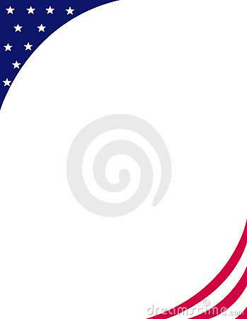 Patriotic border / corner