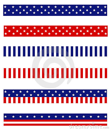 Patriotic border divider