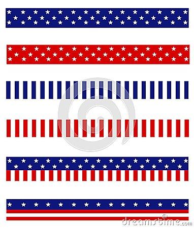 Free Patriotic Border Divider Stock Images - 22690844