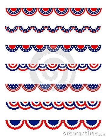 Free Patriotic Bunting Stock Images - 25112904