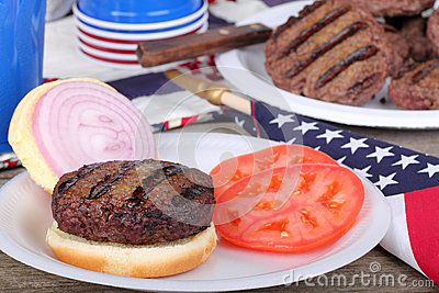 Patriotic Burger