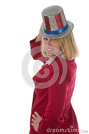 Patriotic Business Woman 3
