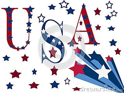 Patriotic Design Illustration