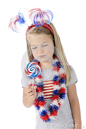 Patriotic Lollipop
