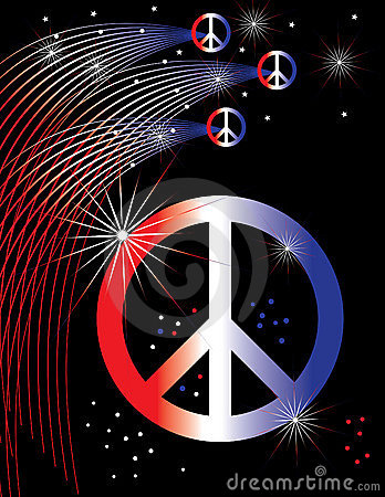 Patriotic Peace Poster