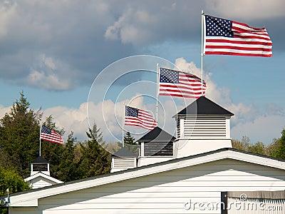 Patriotic Rooftop #1