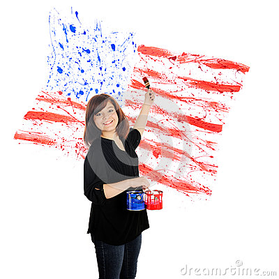 Patriotic Splatters